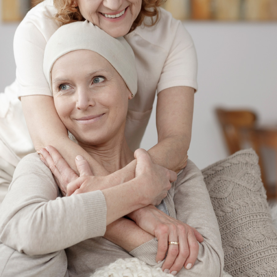 femme combattant le cancer